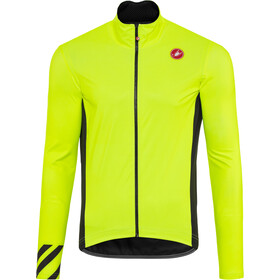 Castelli Pro Fit Light Chaqueta para lluvia Hombre, yellow fluo
